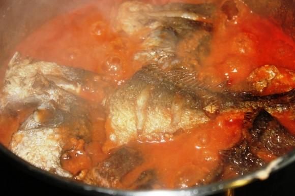 Cuisine du cameroun la recette du poisson sauce njansan - Recette de cuisine camerounaise ...