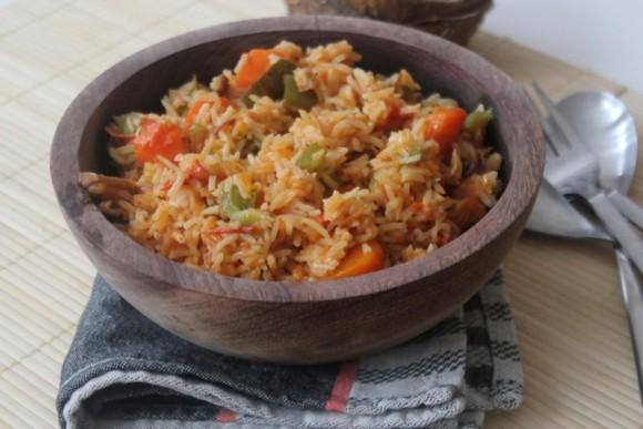 Recettes du cameroun le riz jollof - Recette de cuisine camerounaise ...