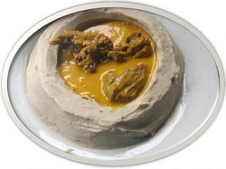 taro sauce jaune
