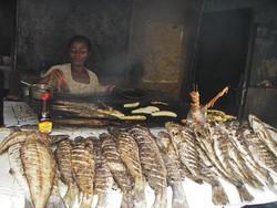Limbé poissons grillés