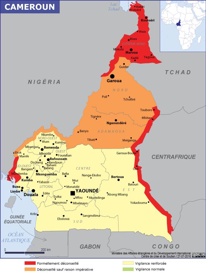 Voyager au Cameroun