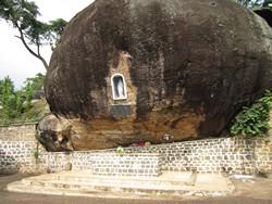 Mont-Fébé, le Rocher de la Vierge