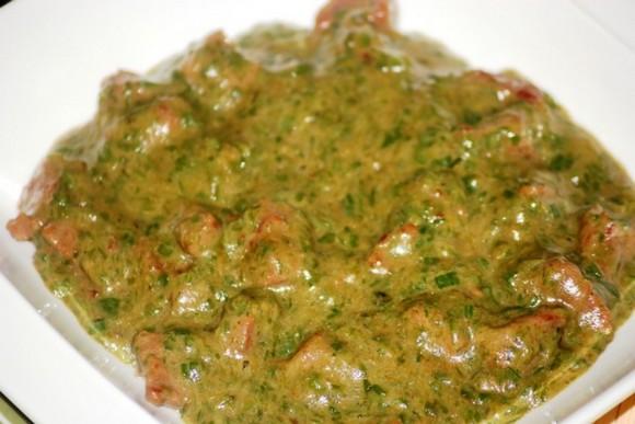 Boeuf sauce gombo